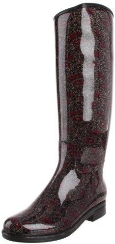 dav Women's English Paisley Rain Boot