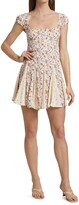 Thumbnail for your product : Free People Ponderosa Floral Mini Dress