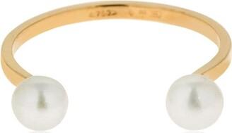 Delfina Delettrez Double Pearls Ring