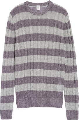 Eleventy Ls Baby Cable Knit Sweater W H Slim