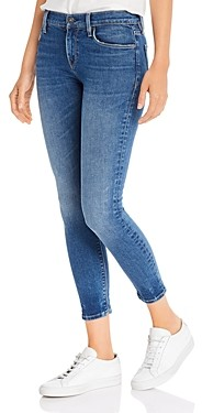 Hudson Nico Mid Rise Skinny Ankle Jeans in Gimmick