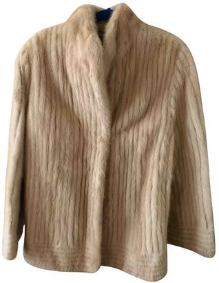 No Name Gold Mink Coat for Women