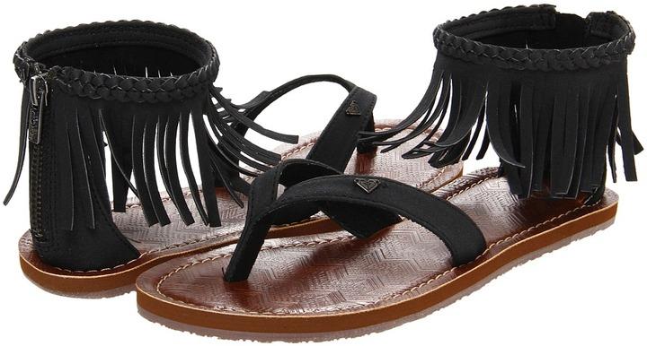 Roxy Shawnee (Black) - Footwear