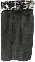Elie Tahari Anthracite Wool Skirt for Women