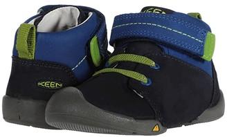 Keen Kids Pep Mid (Toddler) (Dress Blues/Classic Blue) Boy's Shoes