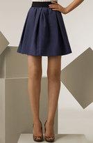 Grosgrain Waist Swing Skirt