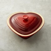 Le Creuset Stoneware Heart-Shaped Covered Casserole