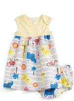 Nordstrom Sleeveless Dress & Shorts Set (Baby Girls)