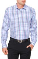 Van Heusen 3 Colour Check Euro Fit Shirt