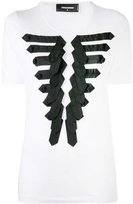 DSQUARED2 applique T-shirt