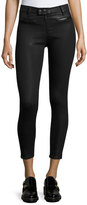 Rag & Bone Ryder Moto Coated Jeans, Black