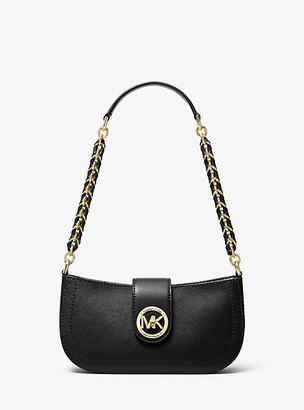 Michael Kors Carmen Extra-Small Saffiano Leather Shoulder Bag