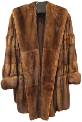 Genny Brown Mink Coat for Women