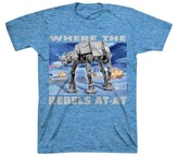 Star Wars Boys' Lego AT-AT T-Shirt - Light Blue
