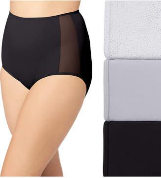 Olga Women 3-Pk. Plus Size Ultra Stretch Brief Underwear GS1603P