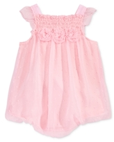 First Impressions Smocked Bubble Romper, Baby Girls (0-24 months)