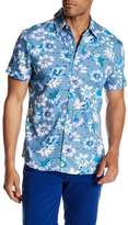 Parke & Ronen Printed Short Sleeve Regular Fit Shirt