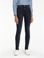 Lee Scarlett High Waist Skinny Jeans, Charcoal Powder