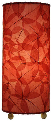 Eangee Home Design Banyan Table Lamp, Red