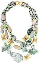 Alexis Bittar Multistrand Gemstone Bead Necklace