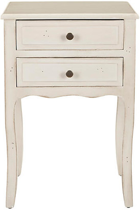 One Kings Lane Lawrence Nightstand - Distressed White