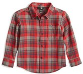 Volcom Toddler Boy's Hewitt Flannel Shirt