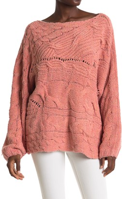 Free People Against The Tide Knit Sweater