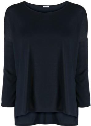 Malo round neck long-sleeved T-shirt