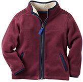 Carter's Boys 4-8 Microfleece Zip-Up Jacket