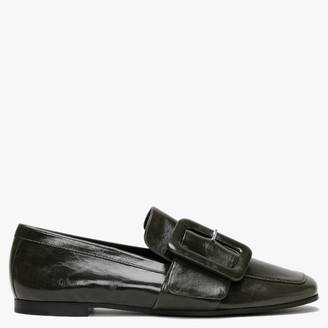 Kennel + Schmenger Marie Green Leather Loafers