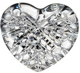 Waterford 'Celtic Heart' Lead Crystal Paperweight - White