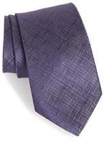 John Varvatos Grid Silk Tie