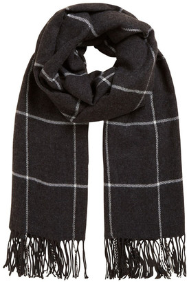 French Connection Convertible Check Scarf