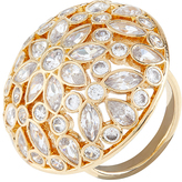 Accessorize Crystal Dome Cocktail Ring