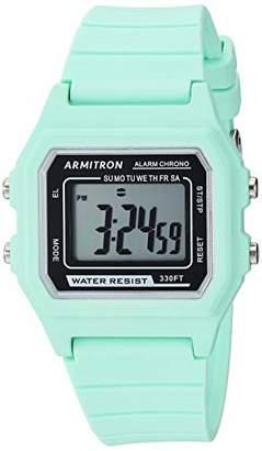 Armitron Sport Unisex Digital Silicone Strap Watch