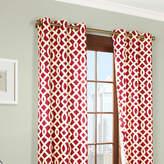 Asstd National Brand Trellis 2-Pack Thermal Cotton Grommet-Top Curtain Panels