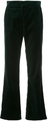 ALEXACHUNG Tailored velvet trousers