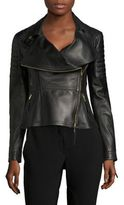 Burberry Lydbury Leather Jacket