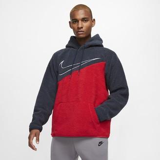 Nike Sherpa Pullover Hoodie Sportswear Swoosh