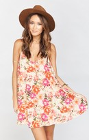 MUMU Circus Mini Dress ~ Pretty Pretty Petals