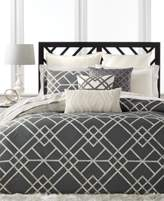 Hotel Collection Modern Airbrush Geo Full/Queen Duvet Cover