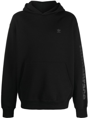 adidas Originals x Pharrell Williams Basics hooded sweatshirt