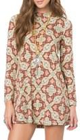 O'Neill Women's Leona Mock Neck Minidress