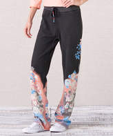 Paparazzi Black Floral Lounge Pants