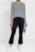 Helmut Lang Cropped and Flared Jeans