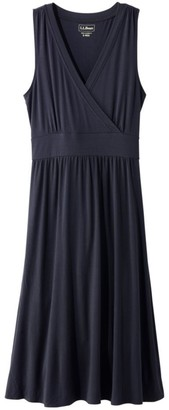 L.L. Bean L.L.Bean Women's Summer Knit Dress, Sleeveless