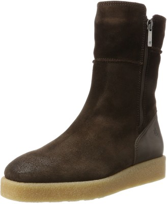 Marc O'Polo Flat Heel Bootie 70914296001304 Womens Slouch Boots