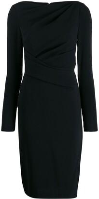 Talbot Runhof fitted dress