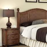 Home styles Marco Island 2-pc. King Headboard & Nightstand Set