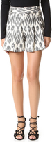 Alice + Olivia Scarlet High Waisted Flutter Shorts